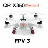 Walkera QR X350 Premium RC Drone With DEVO F12E G-3D Gimal FPV 3
