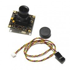 DC12V 1/3 960H CCD 700TVL 2.8mm Lens Wide Angle Camera for FPV QAV250