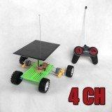 DIY Assembly Solar Power 4CH RC Car