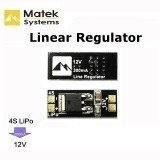 Matek 4S Lipo to 12V Linear Voltage Regulator Regulate Module For FPV Camera Multicopter