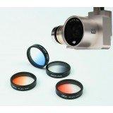 DJI Phantom 4 Phantom 3 Filter Lens colorful Gradient Filter Lens Gradient Red Orange Blue Gray
