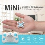 DHD D1 Drone Smallest Headless Mode 2.4G 4CH 6Axis RC Drone RTF