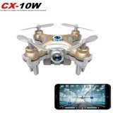 Cheerson CX-10W CX10W Mini Wifi FPV With 720P Camera 2.4G 4CH 6 Axis LED RC Drone