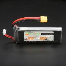XF Power 11.1V 2200mah 3S 40C Lipo Battery XT60 Plug