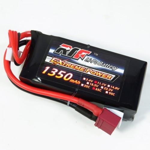 Giant Power RTF 1350mAh 11 1V 3S 65C Lipo Battery for RC Models