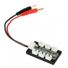 6 In 1 JST Micro PH3 2S Parallel Board Battery Charging Board For UMX 130X