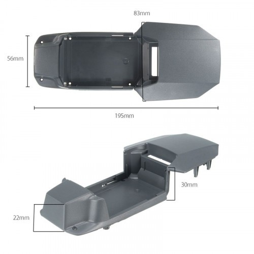 Drone Frame Replacement Parts Upper Shell Canopy Hood Cover For DJI Mavic Pro  sc 1 st  Cheap Drones UK & Frame Replacement Parts Upper Shell Canopy Hood Cover For DJI ...