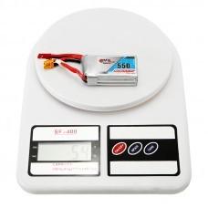 Gaoneng GNB 11.1V 550mAh 80/160C 3S Lipo Battery JST/XT30 Plug