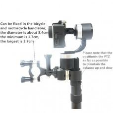 Plastic Bicycle/Motorcycle Fixed Clip Mount for Zhiyun Smooth C/II/Gopro4/5/OSMO/Feiyu Gimbal