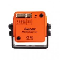 RunCam Sparrow WDR 700TVL 1/3 CMOS 2.1mm FOV150 Degree 16:9 OSD Audio FPV Camera NTSC/PAL Switchable
