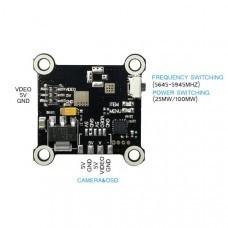 Spcmaker SPC VX86 5.8G 40CH 25mW 100mW Switchable FPV Transmitter w/ External Power Amplifier