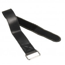 1PC RJX Non-Slip Rubberized Alloy Buckle Straps for Batteries and Electronics