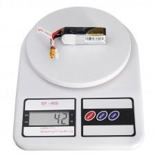Tattu 11.1V 450mAh 75C 3S1P Lipo Battery XT30 Plug