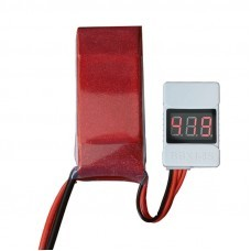 BBX1S-8S Battery Voltage Tester Low Voltage Buzzer Alarm for 1-8S Lipo Battery