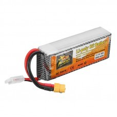 ZOP Power 11.1V 6500mAh 30C 3S XT60 Plug Lipo Battery RC Drone Car