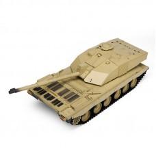 Heng Long 3908-1 1/16 2.4G Smoking British Challenger 2II Remote Control Car Battle Tank Plastic Model Toys