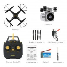 JJRC H68 Bellwether WiFi FPV with 2MP 720P HD Camera 20mins Flight Time RC Drone Drone RTF