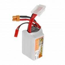 ZOP POWER 14.8V 750mAh 75C 4S Lipo Battery With JST Plug XT30 Plug For RC Racing Racer