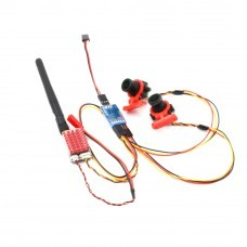 5.8GHz 40CH 25mW/600mW Switchable Transmitter VTX 1km With Dual Camera For FPV RC Drone