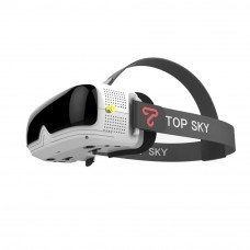 TOPSKY Prime1S 5.8G 48CH 2.4 Inch FPV Goggles Diversity Receiver Built-In Battery DVR For RC Drone