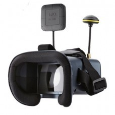 LS-008D 480*272 4.3 Inch LCD 5.8Ghz 40CH Diversity FPV Goggles with DVR Battery