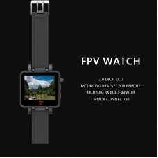Topsky 2 Inch 5.8Ghz 48CH FPV Watch Monitor Built-in Battery Banggood Christmas Limited Edition