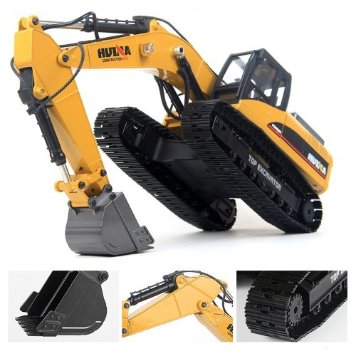Huina 580 Excavator Remote Control Car Toys Styling 23 Channel Road